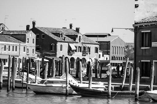 Italy, Murano, Island, Venessia, Romantic, Channel