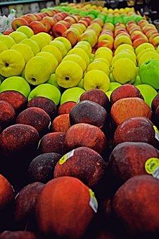 Apple, Apples, Food, Fruit, Red, Harvest, Nature
