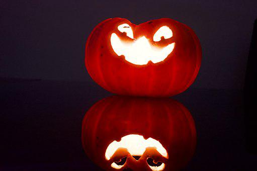 Halloween, Scary, Pumpkin, Autumn, Holidays, October