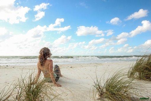 Beach, Marco Island, Nature, Summer, Blue, Ocean