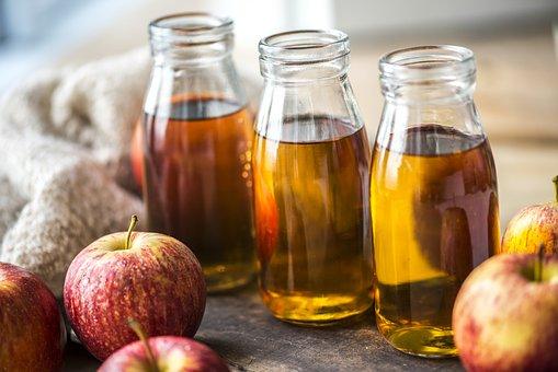 Apple, Apple Juice, Beverage, Bottle, Cider, Closeup