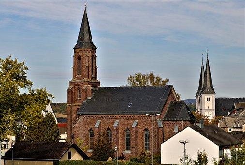 Window, Brick, Churches