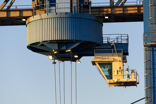 Crane, Loading Crane, Container, Port, Loading, Cargo