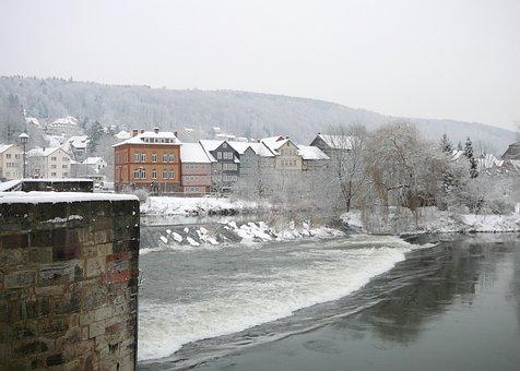Hann, Münden, City, Truss, Lower Saxony
