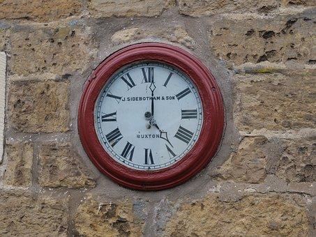Railway Clock, Station, Clock, Travel, Railway