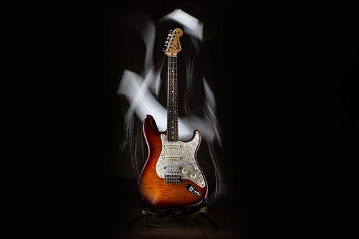 Guitar, Fender, Electric, Music, Instrument