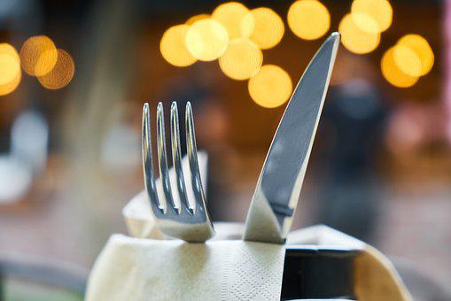 Fork, Knife, Food, Service, Restaurant, Kitchen, Invite