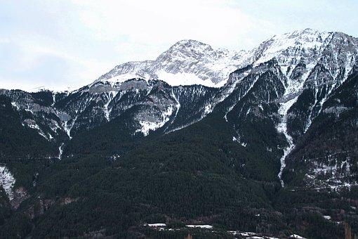 Mountain, Pyrenees, Autumn, Snow, Greatness, Landscape