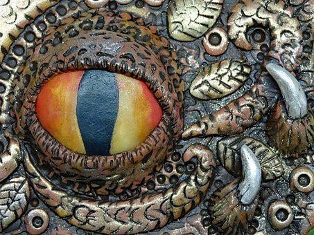 Art Soap, Hand Made, Dragon, Dragon's Eye, Sculpture