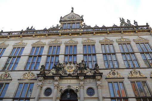 Bremen, Hanseatic City, Market, Facade, Historically