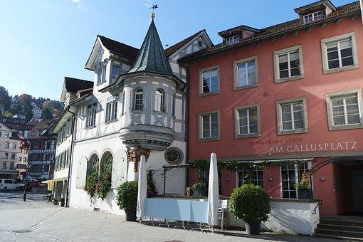 St Gallen, Historic Center, Historically, Facades