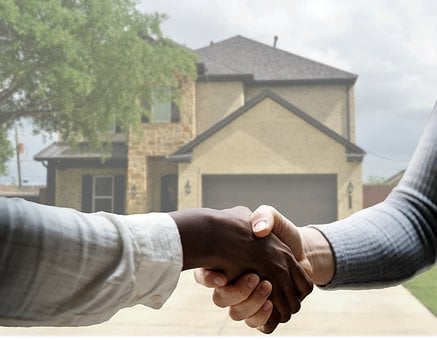 House, Real Estate, Agent, Sold, Handshake, Sell