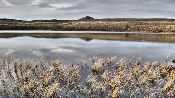 Lake, Scotland, East Lomond, Tranquil, Nature
