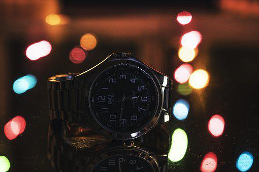 Hour S, Moment, Watch, Bokeh, Time, Minute, Macro