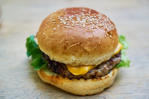 Burger, Food, Delicious, Cheeseburger, Meat, Barbecue