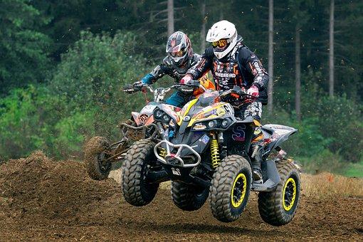 Quad, Cross, Motocross, Motorcycle, Motorsport, Race