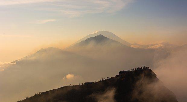 Volcano, Mount Batur, Mount Abang, Mount Agung, Bali