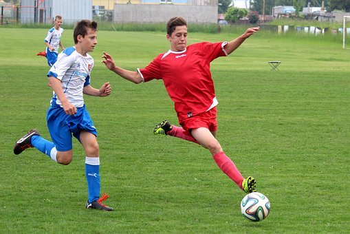 Football, Pupils, Older Pupils, Match, Clash Of The