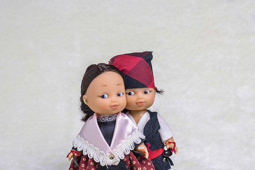Dolls, Regional, Baturricos, Saragossa, Aragon, Baturro