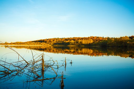Lake, Sky, Autumn, Water, Reflection, Landscape, Nature