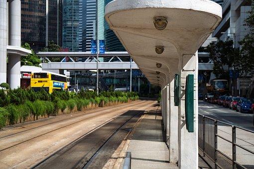 Hongkong, Station, Transport, Transportation, Train