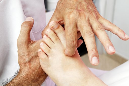 Foot Reflexology, Reflex Foot Esophagus, Therapy