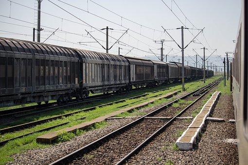 Railway, Railroad, Train, Rails, Travel, Transport