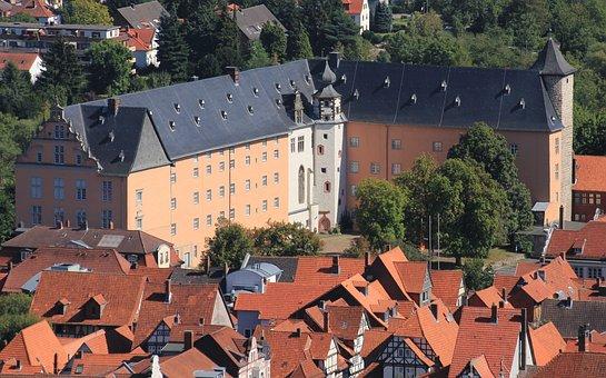 Welfenschloss, Hann, Münden, City, Truss, Lower Saxony