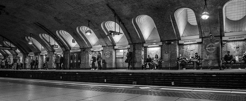 Baker Street Tube Station, London, Underground