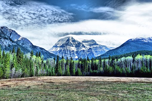 Mount Robson, Rockies, Mountain, Canada, Vista, Nature
