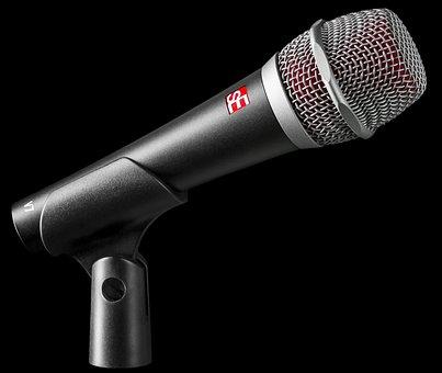 Microphone, Vocals, Vocal, Singer, Rock Star, Music