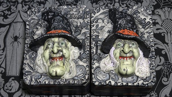 Art Soap, Crone, Hag, Witch, Halloween, Scary