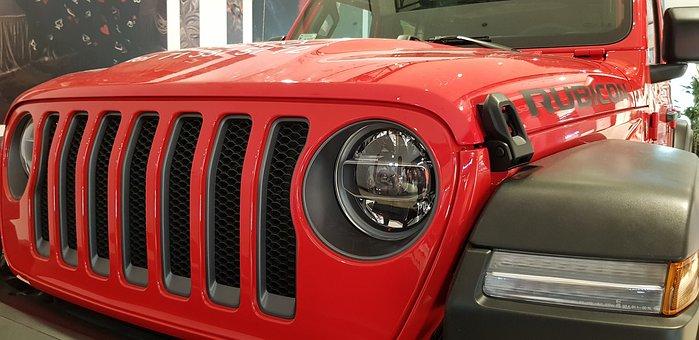 Jeep, Wrangler, Rubicon, Reflector