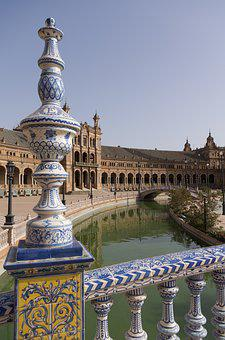 Andalusia, Plaza De España, Monument, Architecture