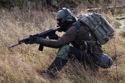 Airsoft, Replica Airsoft, Tactical, Specna, Rifle, Asg