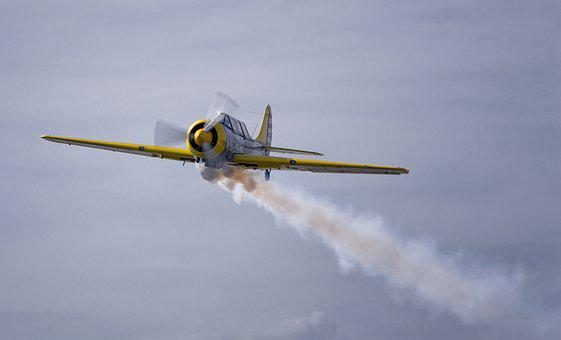 Plane, Air Show, Sky, Aircraft, Aviation, Stunts, Show