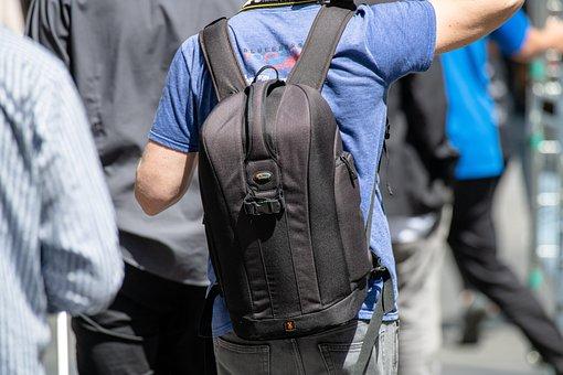Backpack, Camera Bag, Photographer