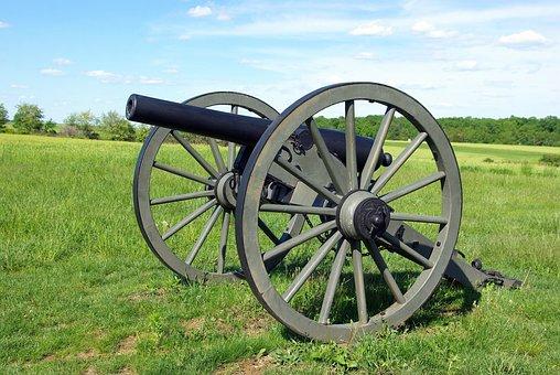 Gettysburg Cannon, Cannon, Artillery, Battlefield