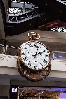 Clock, Melbourne, Melbourne Central, Time, Cbd, Giant
