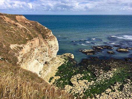 Cliffs, Coastline, Coast, Sea, Ocean, Water, Landscape