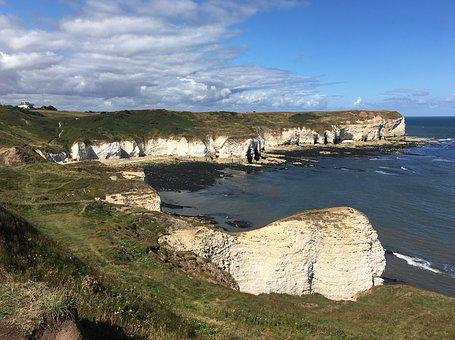 Flamborough, Yorkshire Coast, Coast, England, Seascape