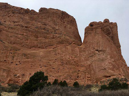 Colorado, Garden Of The Gods, Rock, Landscape, Park