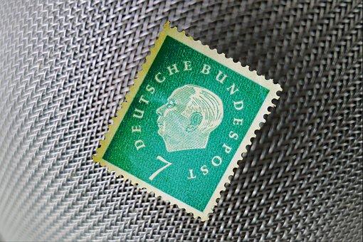Stamp, Compendiums, Porto, Post, Communication