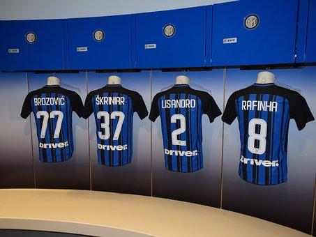 Locker Room, Football, Football Kit, Inter Milan