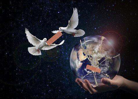 Harmony, World Peace, Dove, Hope, Forward, World