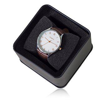 Gents Tempo Quartz Dress Watch, Clock, Time, Isolated