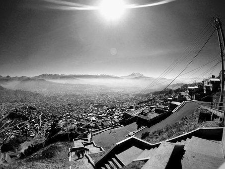 La Paz, Bolivia, Mountain, Sky