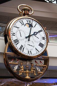 Clock, Time, Giant, Timepiece, Melbourne