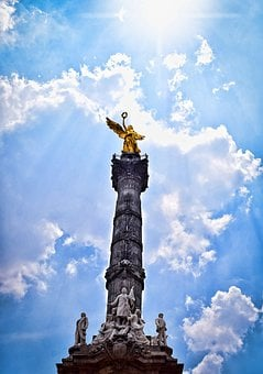 Mexico, Mexico City, Angel, Urban, Monument, Sky, Cdmx