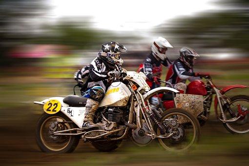 Motocross, Side Car Race, Motorsport, Speed, Fast